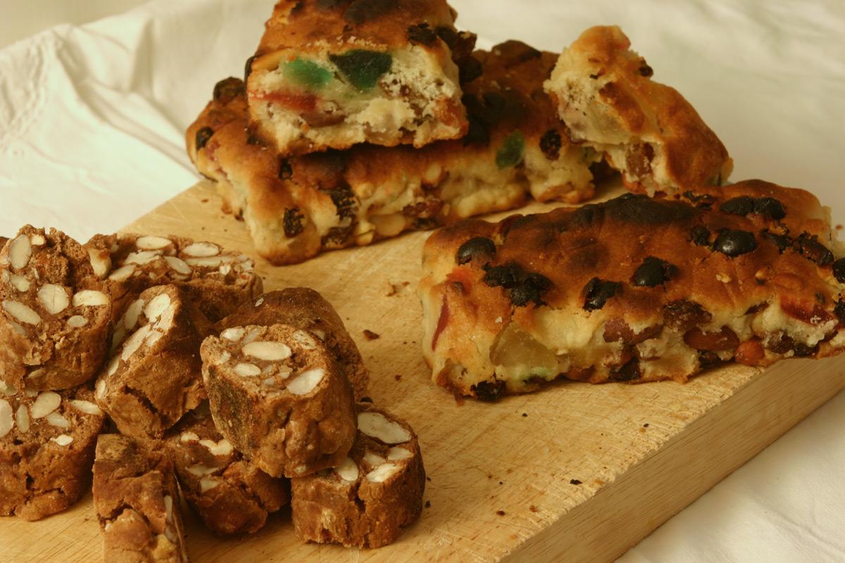 Tozzetti romani e pizza ebraica di Boccione